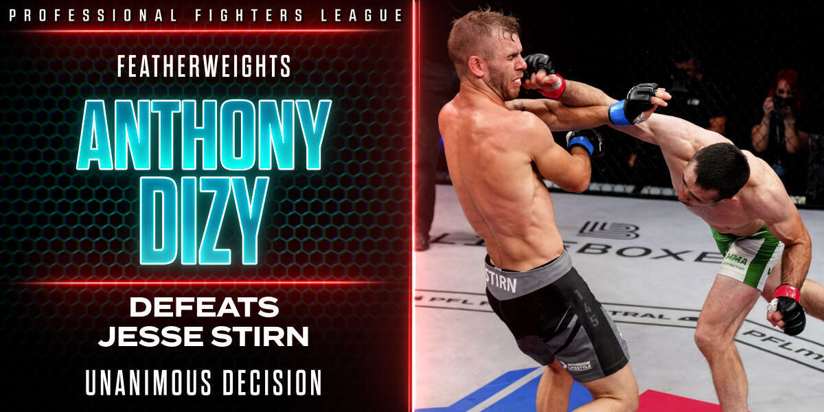 Anthony Dizy Controls Jesse Stirn To Earn Way Back Into Win Column