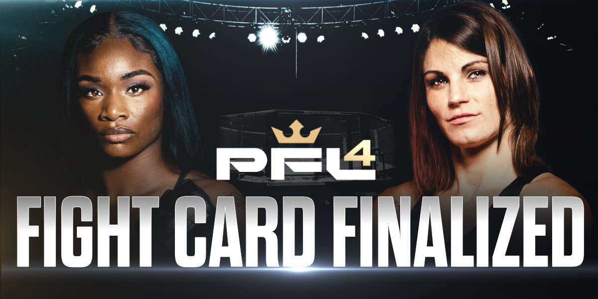 BOXING CHAMPION CLARESSA SHIELDS SET TO MAKE PROFESSIONAL FIGHTERS LEAGUE DEBUT, PFL 4 FIGHT CARD FINALIZED
