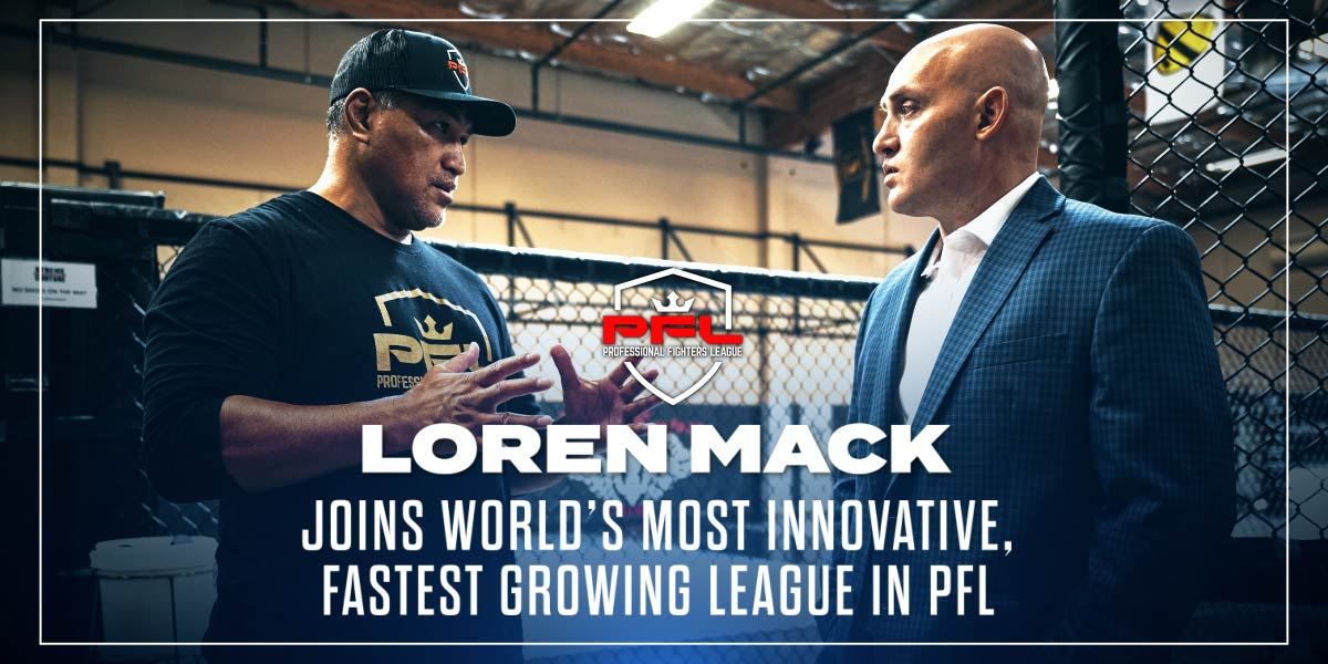 Loren Mack Joins World's Most Innovative, Fastest Growing League In PFL