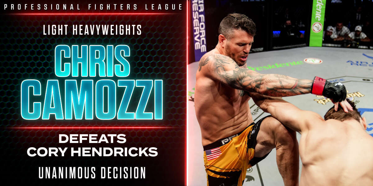 Chris Camozzi picks up second consecutive win with grueling decision over Cory Hendricks