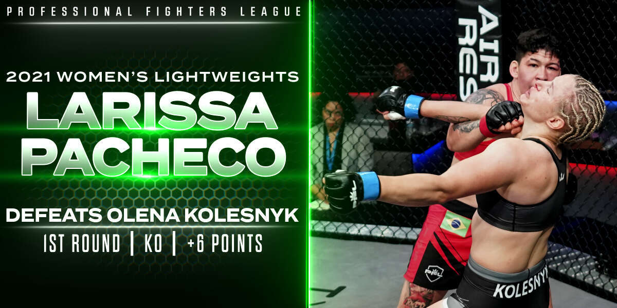 Pacheco turns tables, knocks out Kolesnyk for another six points