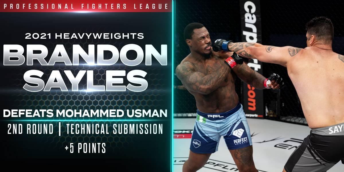 Sayles Puts Usman to Sleep, Captures Five Points