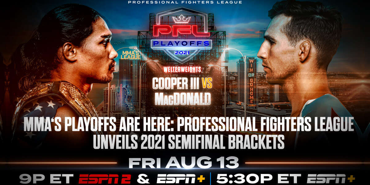 MMA'S PLAYOFFS ARE HERE: PROFESSIONAL FIGHTERS LEAGUE UNVEILS 2021 SEMIFINAL BRACKETS