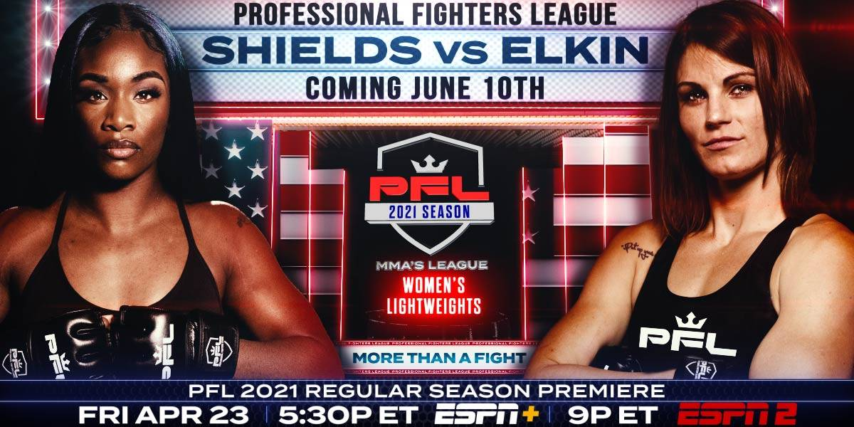 World's Greatest Women's Boxer Claressa Shields Set to Fight Brittney Elkin in Highly Anticipated Professional Fighters League MMA Debut June 10 on ESPN2