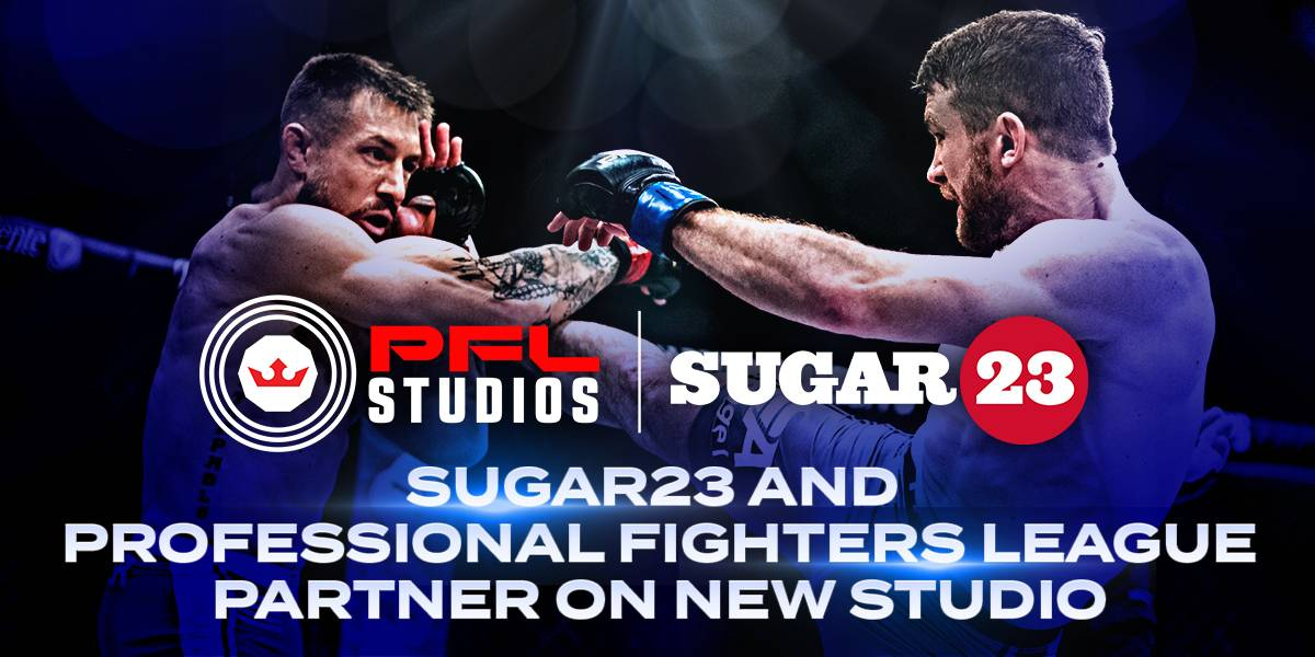Sugar23 and Professional Fighters League Partner on New Studio