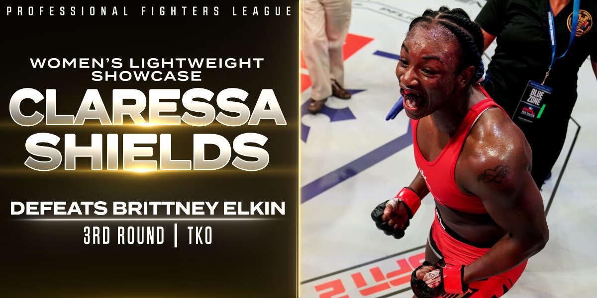 Shields roars back in MMA debut, finishes Elkin via late TKO