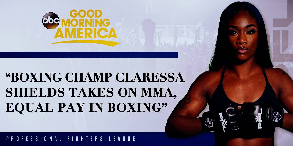 (GMA) Boxing champ Claressa Shields takes on MMA, equal pay in boxing