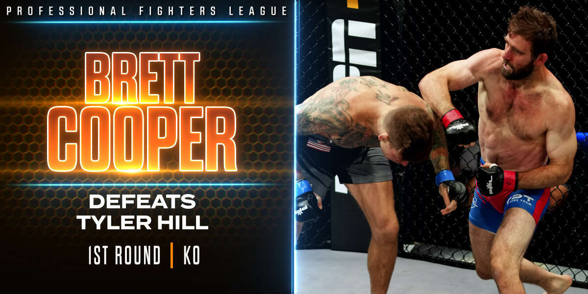 Cooper overwhelms Hill early, forces TKO stoppage