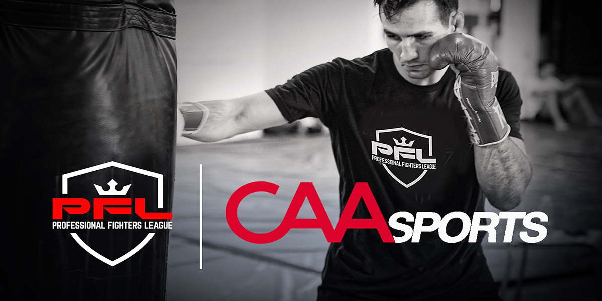 PFL PARTNERS WITH CAA SPORTS LICENSING TO MEET RISING GLOBAL DEMAND FOR PFL BRAND AND CONSUMER PRODUCTS