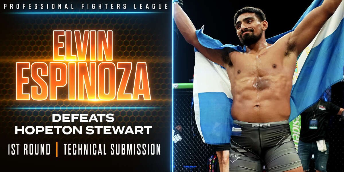 Espinoza makes quick work of Stewart, notches sixth stoppage win in six pro fights