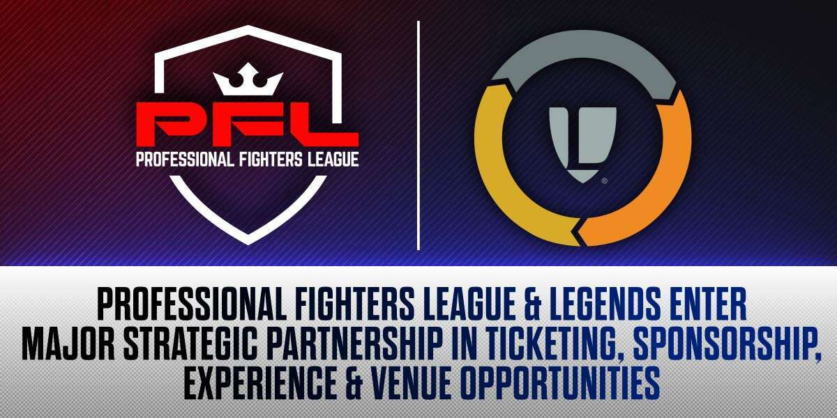 PROFESSIONAL FIGHTERS LEAGUE AND LEGENDS ENTER MAJOR STRATEGIC PARTNERSHIP ACROSS TICKETING, SPONSORSHIPS, EXPERIENCE, AND VENUE OPPORTUNITIES