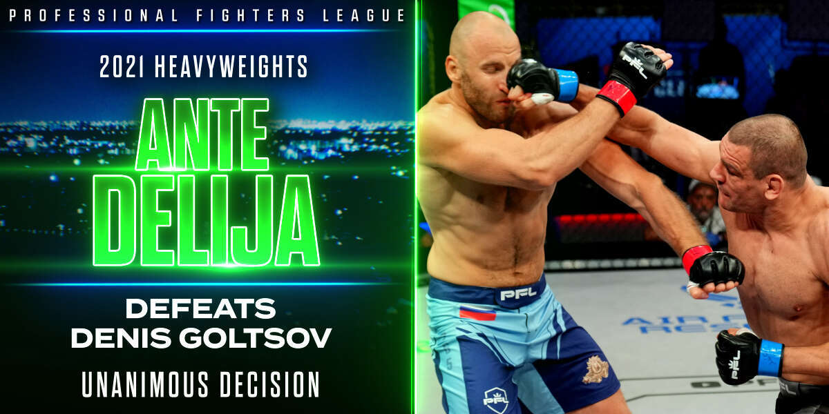 Delija upsets Goltsov, punches ticket to Heavyweight Finals