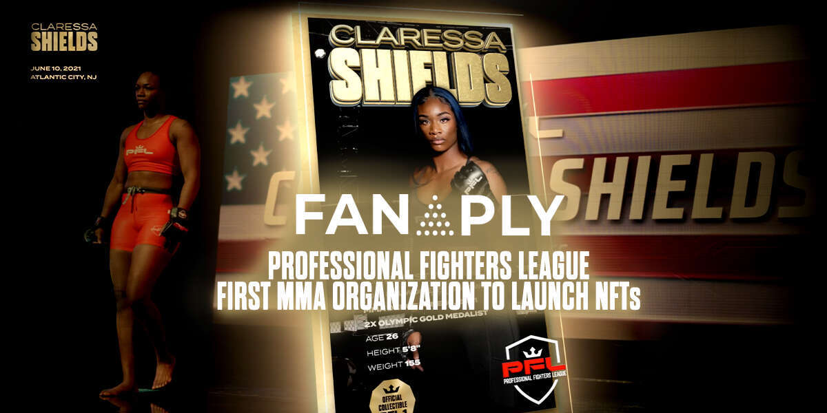 PROFESSIONAL FIGHTERS LEAGUE AND FANAPLY ANNOUNCE FIRST MMA ORGANIZATION NFTs IN HISTORY