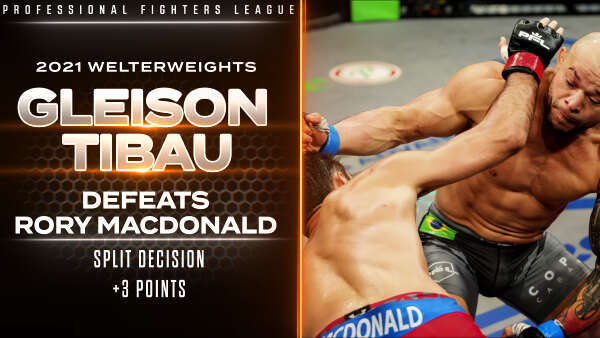 Tibau shocks MacDonald, wins controversial split-decision