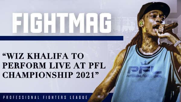 Wiz Khalifa to perform live at PFL Championship 2021