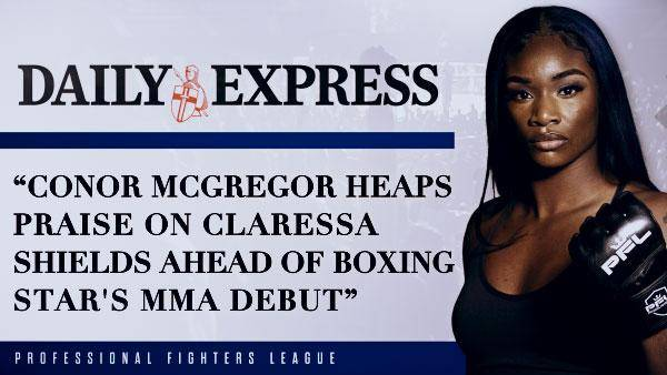 Conor McGregor heaps praise on Claressa Shields ahead of boxing star's MMA debut
