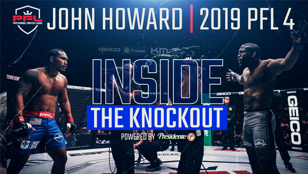 John Howard's Lethal Left Hook Levels Ray Cooper III | Inside The Knockout Ep. 7