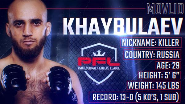 Fastest KO in PFL History - Movlid Khaybulaev Lands Epic Flying Knee | Inside The Knockout Ep. 2